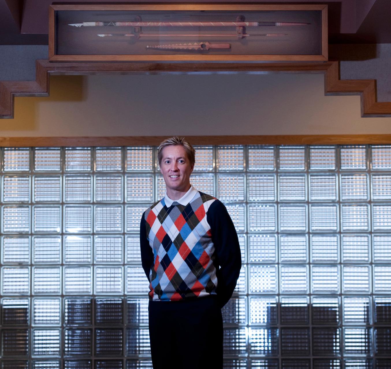Thomas Mack, President of Aleut Corporation.