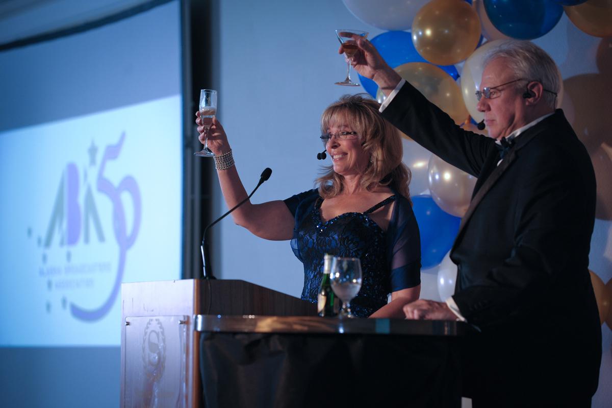 Alaska Broadcaster's Associaton annual banquet.
