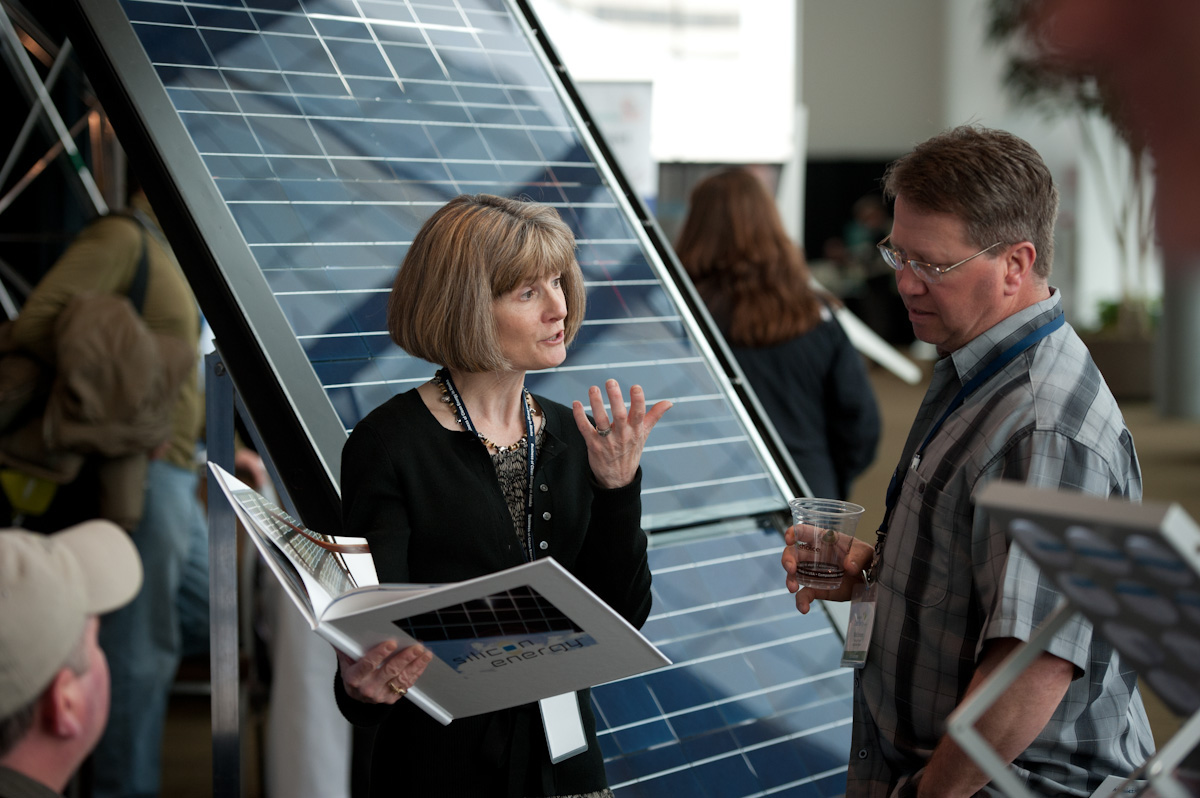 Solar Panels are discussed at REAP.