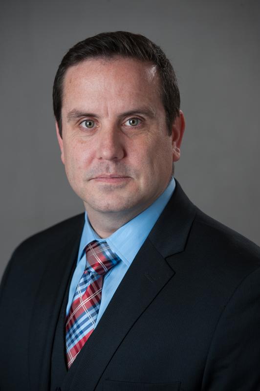 Business Portrait of Dr. Scott Ebenhoeh, Alaska Heart & Vascular Institute.