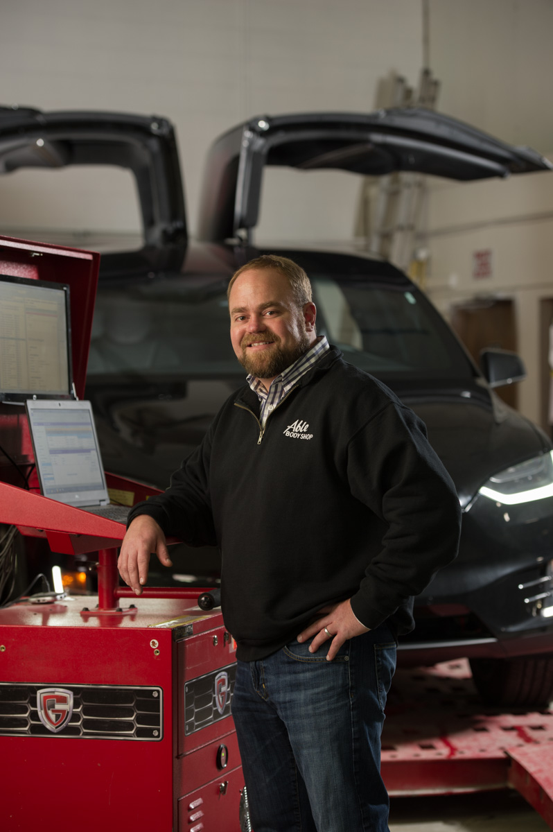 Ryan Cropper of Able Body Shop in Anchorage.