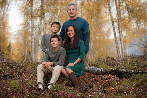 family portraits Anchorage Michael Dinneen Photography