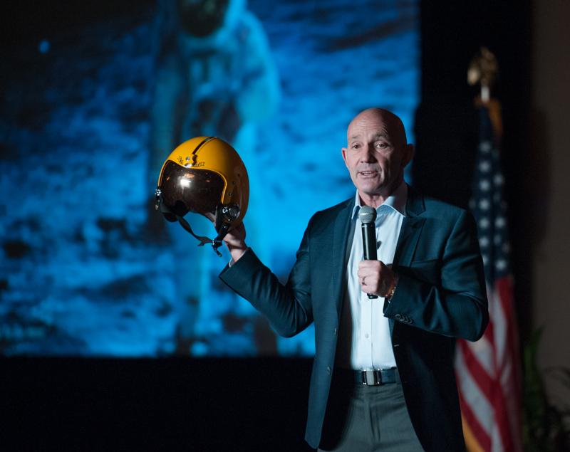 Former Blue Angel pilot and motivational speaker John Foley.