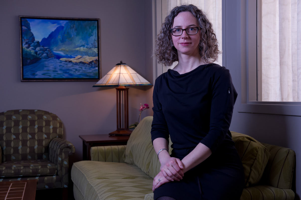 Business Portrait of attorney Sarah Monkton