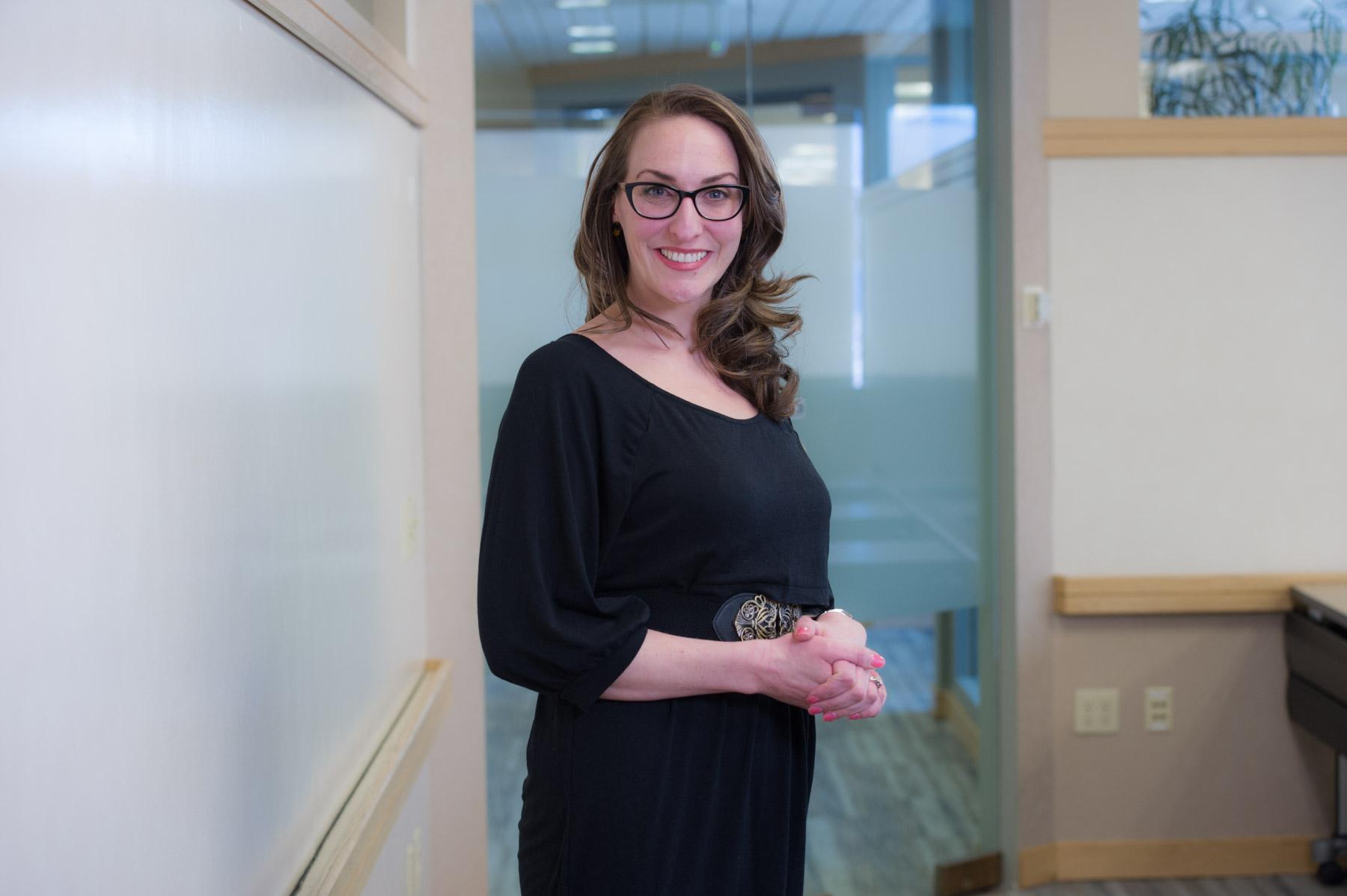 Caitlyn Kennedy of DOWL Engineering