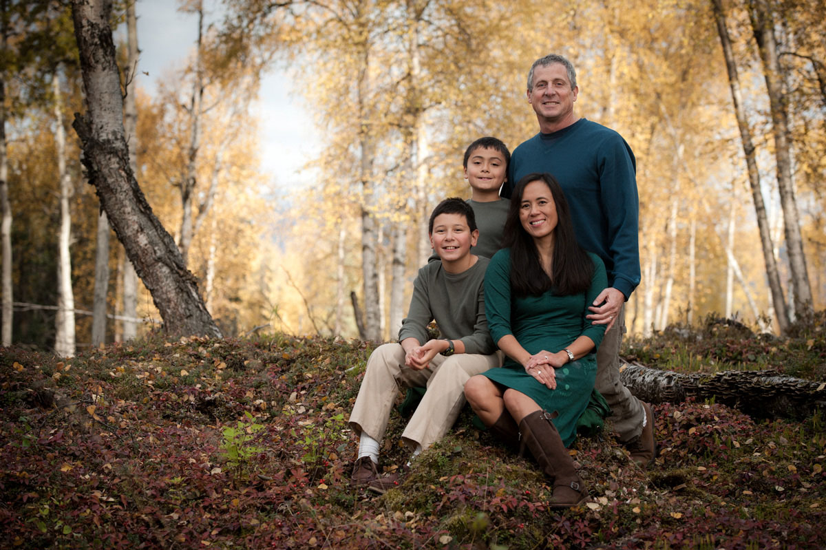 Family Portraits Anchorage photographer Michael Dinneen