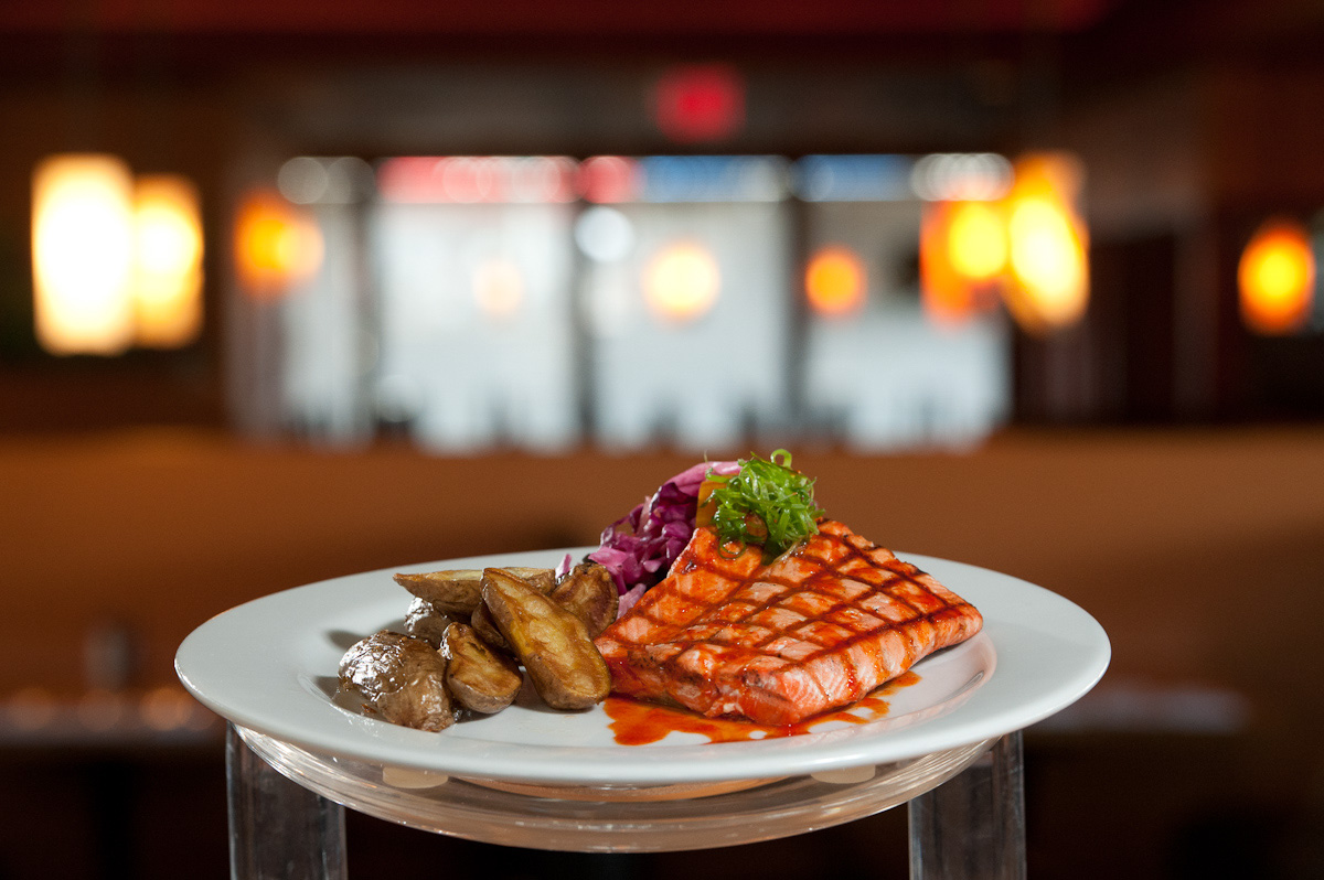 Grilled Salmon from Suite 100 in Anchorage.