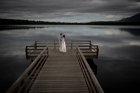Alaska Destination Wedding Photography by Michael Dinneen
