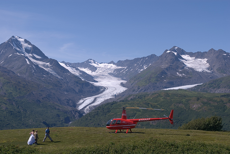 Alaska Elopement and Wedding Photographer