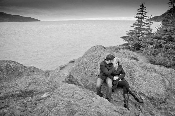 destination wedding setting in alaska